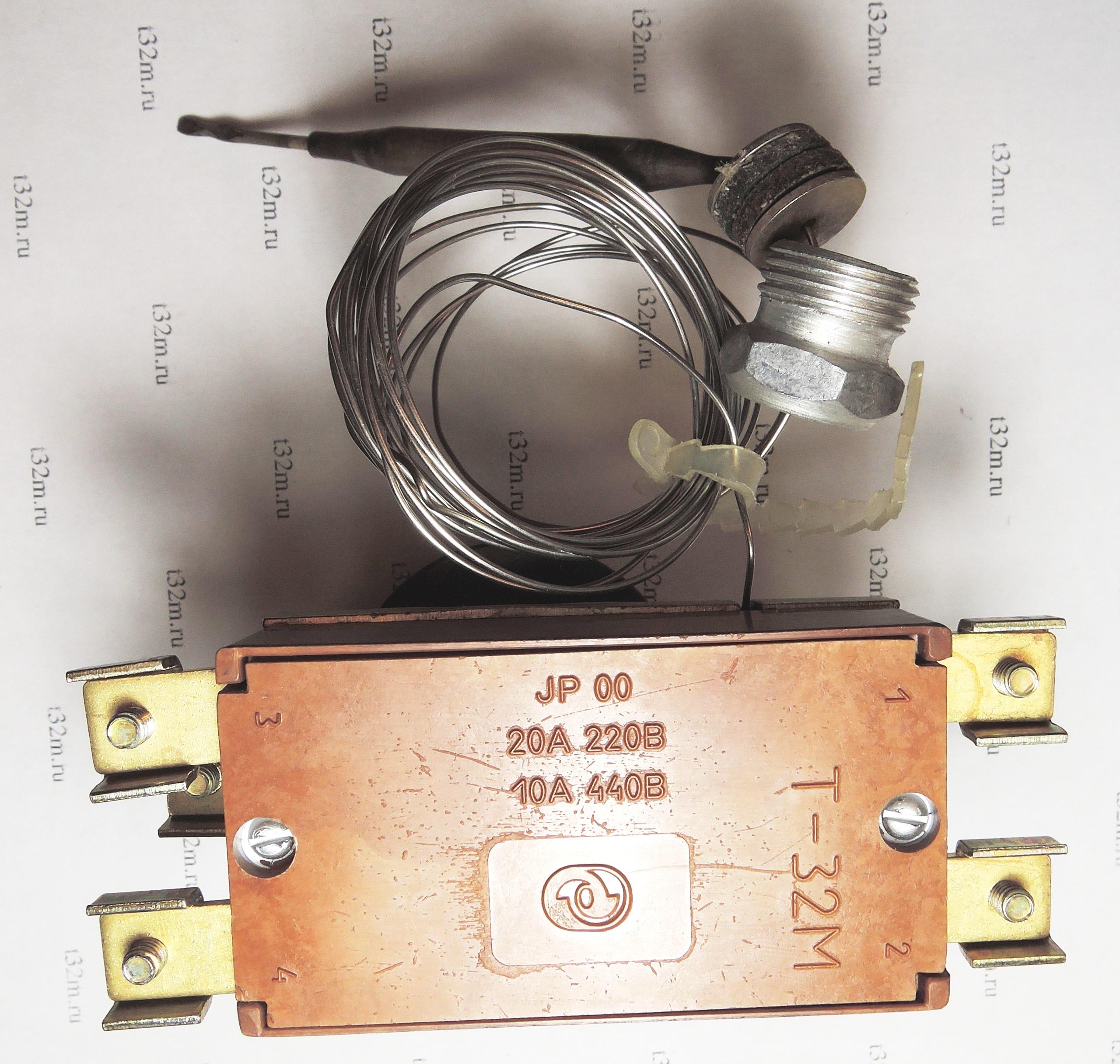 терморегулятор на два датчика схема